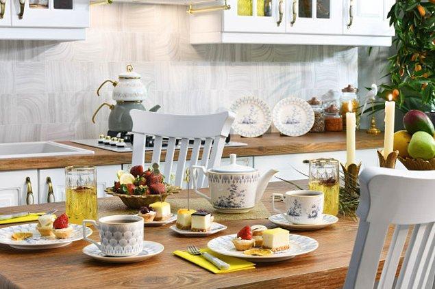 Hayalinizdeki mutfağa ulaşmak istiyorsanız ihtiyacınız olan mutfak ürünlerini de burada bulacaksınız!