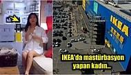 Çin'de Bulunan IKEA Mağazasında Mastürbasyon Videosu Çekerek Ünlü Olan Bi' Acayip Kadın