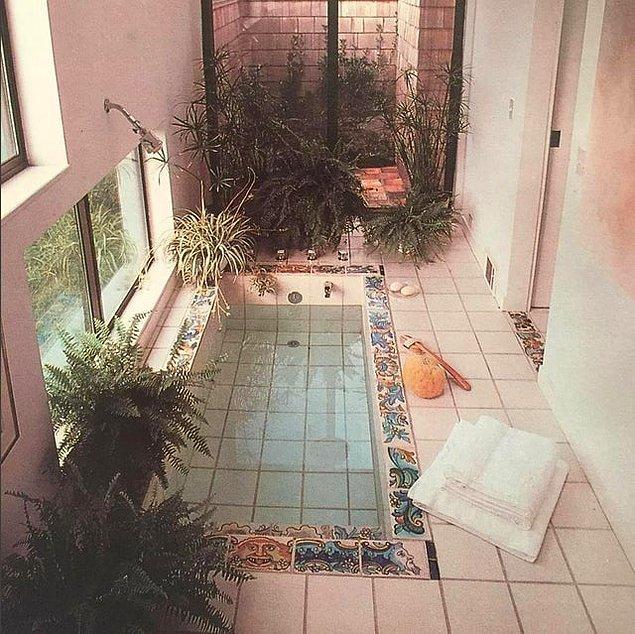 2. Tüm zamanların en güzel küvetine sahip banyosu olabilir!