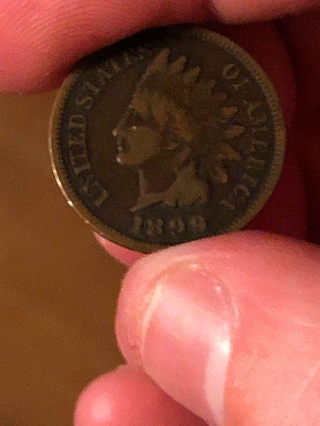 """14. """"Köpeğimi gezdirirken 1899'dan kalma bozuk para buldum!"""""""