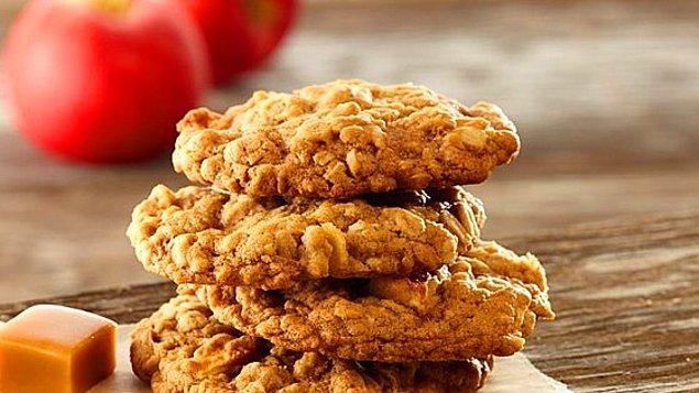 13. Dışı çıtır içi yumuşacık: Elmalı Cookie