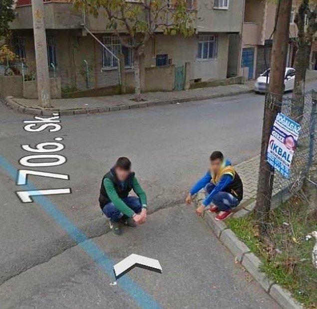 1. 50 kuruş ve Google Maps.