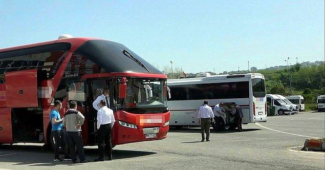 Otobüs seferleri 28 Mart 2020 tarihinden itibaren 17:00'da valiliklerden ya da E-Devlet üzerinden alınan izinler ile sağlanmaktadır.