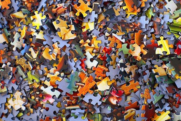Özel parçaları belirleyin ve onları da bir araya toplayın.
