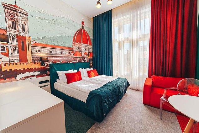 3. Apart oteller de hem az kişi kapasiteli olduğu için hem de yemeğinizi odada kendiniz yapacağınız için nispeten güvenli tatil yerleri arasında.