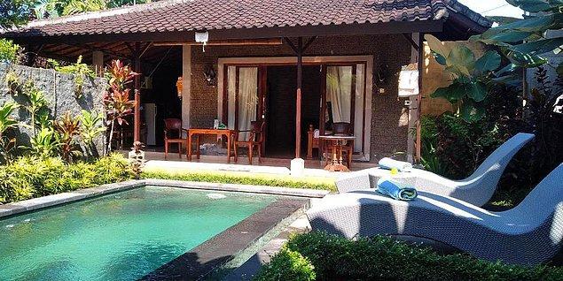Bütün tatil köylerinde, havuzlu villalar mevcut. Yine bütçeniz doğrultusunda bu da bir seçenek olabilir.