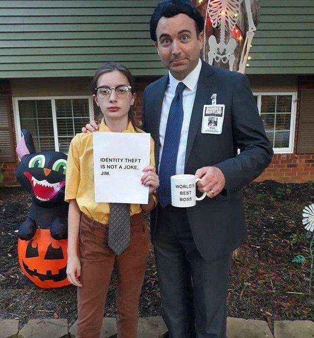 """11. """"Kızım The Office'in Dwight karakteri olmak istiyordu. Bu da benim kostüm seçimimi kolaylaştırdı."""""""