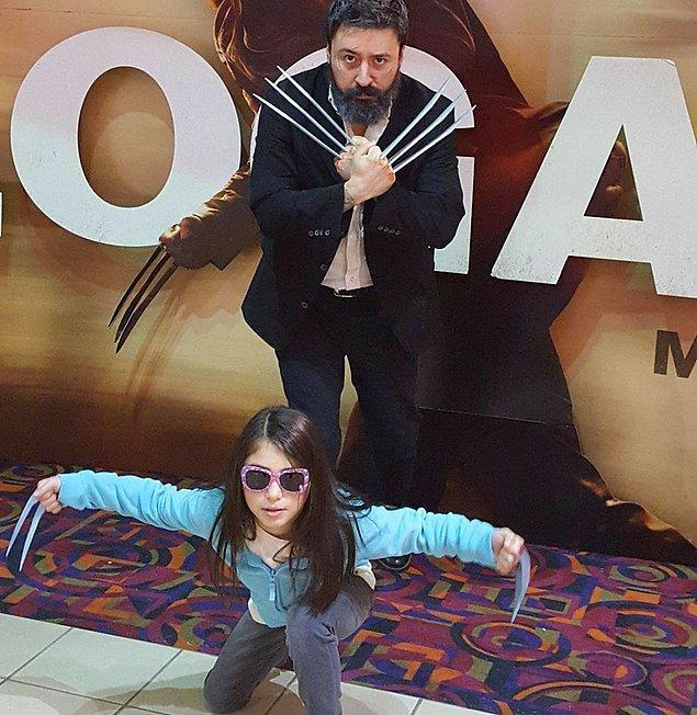 """14. """"Film sektöründe çalışıyorum ve bu baba-kız ikilisi keyfimi yerine getirdi."""""""