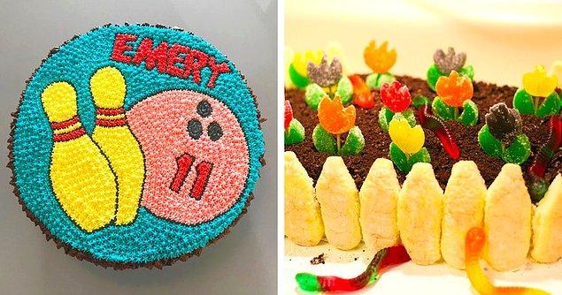 19. Kızlarına ve oğullarına ayrı ayrı pasta tasarlayan babanın başarısı: