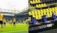 Koronavirüs Gölgesinde Yeniden Başlayan Almanya Ligi Bundesliga'dan Yeni Futbol Düzeni Manzaraları