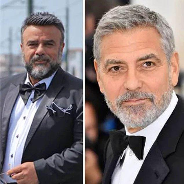 4. Yeni imajıyla George Clooney'e benzetilen Bülent Serttaş, sosyal medyanın diline düştü!