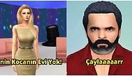 Türk Televizyon Efsanelerini Sims Oyunuyla Tekrar Canlandıran Kişilerden Hayranlık Uyandıracak Paylaşımlar
