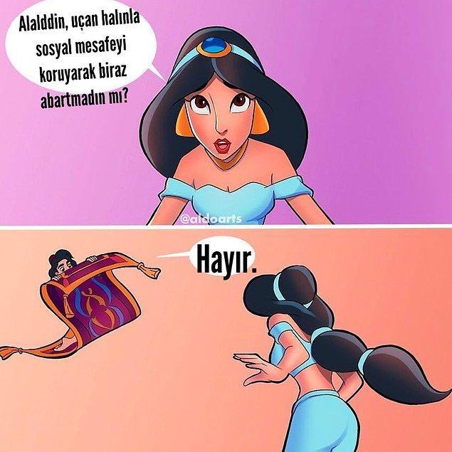 16. Aladdin biraz fazla abartmıyor musun?