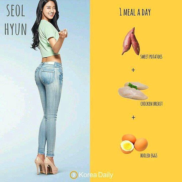 """İnternette """"Kore diyeti"""" diye dolaşan veya Koreli ünlülerin bütün gün yediği gıdaların paylaşıldığı bir takım bilgiler var. Sakın ha sakın böyle şeyleri kafanıza göre yapmayın. Her diyet kişiye özeldir. Ayrıca bu nasıl beslenme şeklidir arkadaşlar? Yapman guzum..."""
