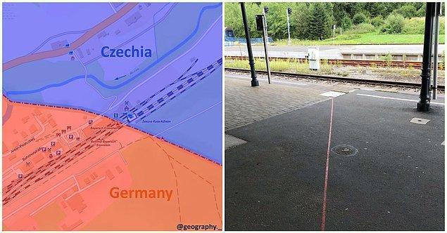 12. Çekya- Almanya sınırı: