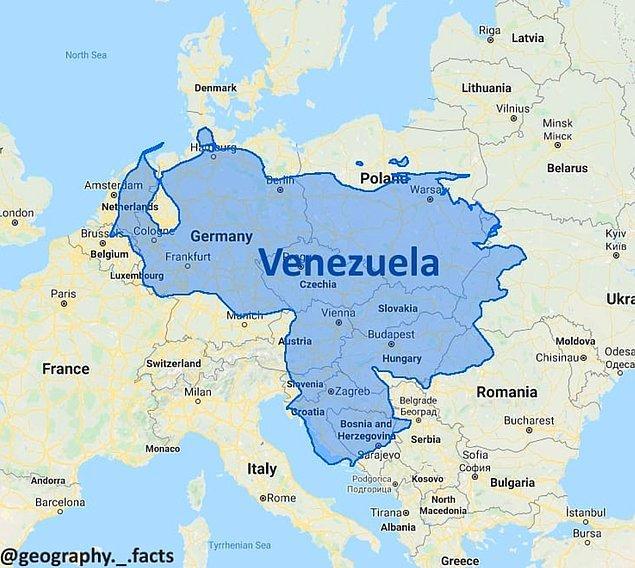 7. Venezüella Avrupa'da olsaydı: