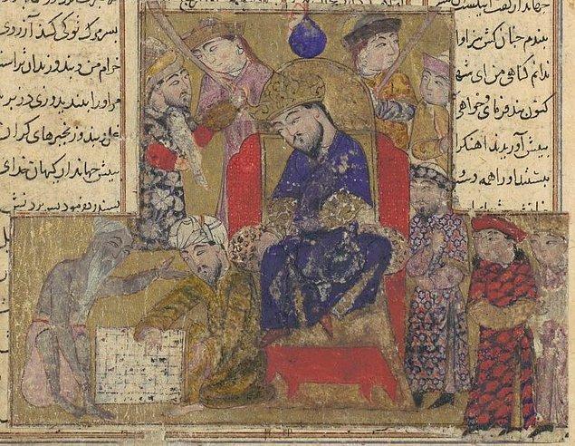 Satranç, Persliler aracılığıyla İran'a yayıldı.