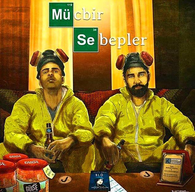 Bartu Küçükçağlayan ve Melikşah Altuntaş Instagram canlı yayın üzerinden yaptıkları 'Mücbir Sebepler' isimli mini talk showunu biliyorsunuzdur.