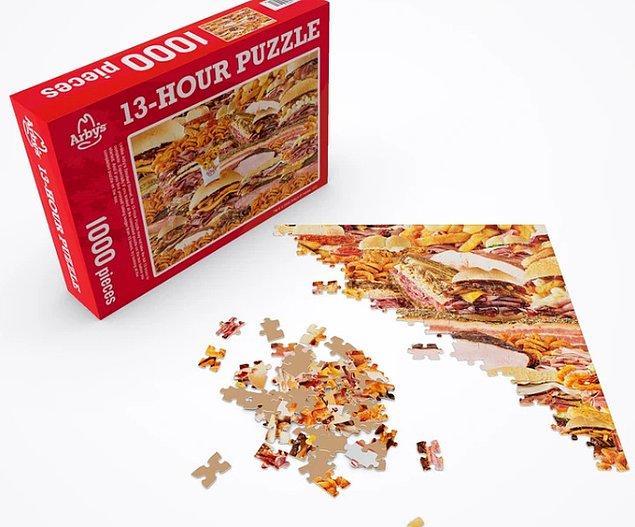 8. Et sevenleri bir hayli mutlu edecek bu puzzle: