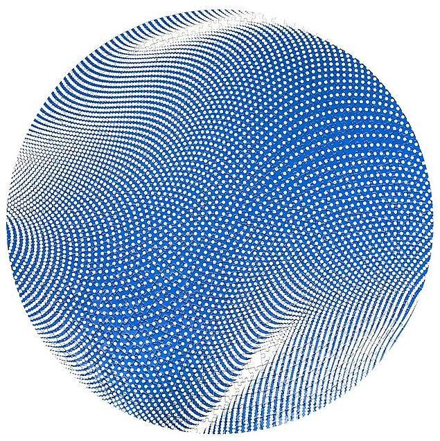 13. Tamamlandığı zamanki görüntüsüyle insanı tatmin eden çok tarz bir benekli kumaş desenli puzzle: