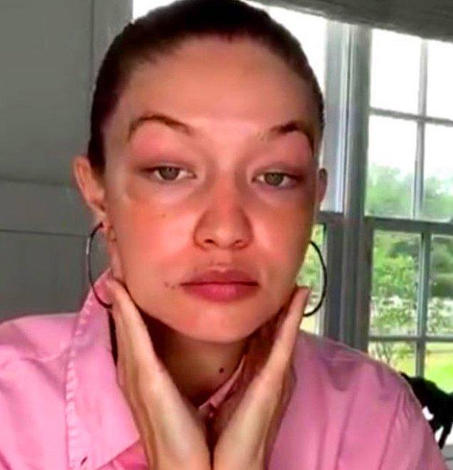 Gigi Hadid geçtiğimiz günlerde yaptığı röportajda en doğal haliyle hem estetik iddialarına yanıt verdi hem de hamileliğin neden olduğu değişimlerden bahsetti.