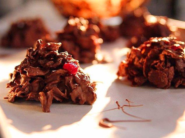 2. Bir tane asla yetmeyecek: Çikolatalı Çerez