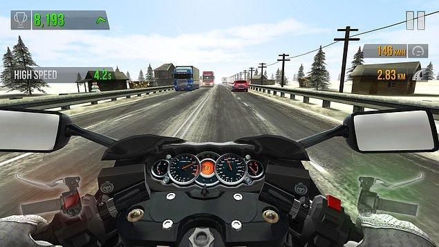 5. Traffic Rider