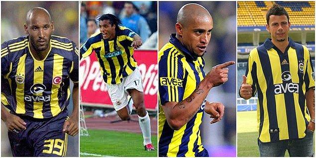Nicolas Anelka, Pierre van Hooijdonk, Roberto Carlos, Mateja Kezman bu futbolculardan bazılarıdır.