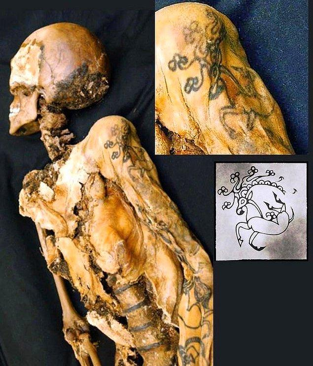 10. 2500 yıllık bir dövme: