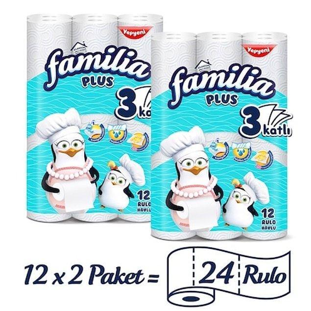 7. Havlu kağıt mücevher kadar değerlendi bu günlerde. Ama arada fiyatı artmamış bir fırsat ürünü bulduk merak etmeyin. 24 rulo Familia havlu kağıt sadece 49 TL ve kapınıza kadar ücretsiz teslim!