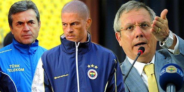 Marsilya'yı 2-0 yenerken 67. dakikada alınan Alex ve maçın 2-2 bitmesiyle taraftarın topa tuttuğu Teknik Direktör Aykut Kocaman ile arasında sorunların olduğu iddia edildi.