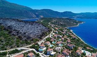 Kaş'ta Dün Gece Çıkan Yangın Şüphe Uyandırdı: 'Deniz Manzaralı, Tam 15 Villalık'