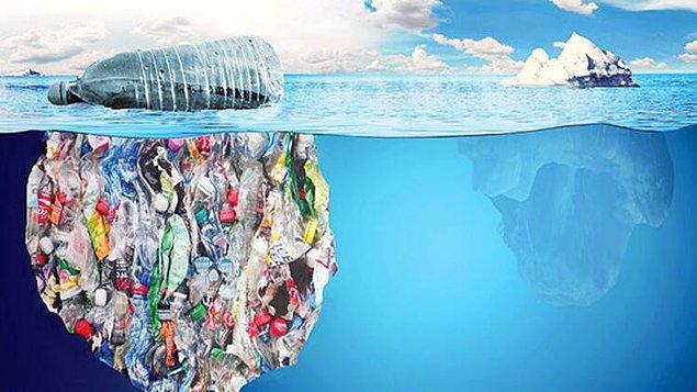 1950'lerden bu yana 6,3 milyar ton plastik ürettik.