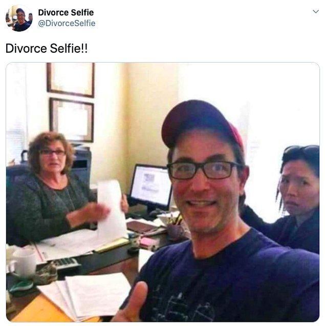 """9. """"Boşanma selfie'si"""""""