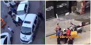 Küfür, Hakaret, Dayak ve Ters Kelepçe: İstanbul'da Bir Çocuk ve Motosikletli Kuryenin Polislerle İmtihanı...