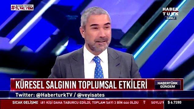 Nedim Şener, Gürkan Hacır, Adil Gür ve Mete Yarar'ın konuk olduğu programda duyulan osuruk sesi herkesi şok etmişti.