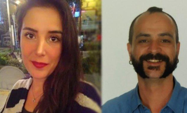 İkinci gün yarışacak çift, Sibel ve Mehmet Emre Gedik.