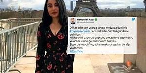 AKP'li Meclis Üyesi Hamdullah Arvas'tan Kadın Cinayetleri Yorumu: 'Hikâye Aynı, Özgürlük Düşkünü Bir Kadın ve Gayrimeşru Yaşantı'