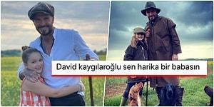 """David Beckham'ın Kızı Harper Seven ile Paylaştığı Yürüyüş Fotoğrafları """"Hey Maşallah!"""" Dedirtti"""