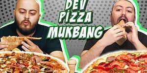 Dev Pizza MUKBANG: Danla Bilic, Survivor Cemal Can, Leş Influencerlar, Roman Dansçı, Hepsi