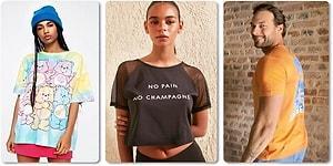 Yaz Tarzının En Önemli Parçası Tişört! Her Bütçeye Uygun Sloganlısından Lisanslısına 15 Tişört