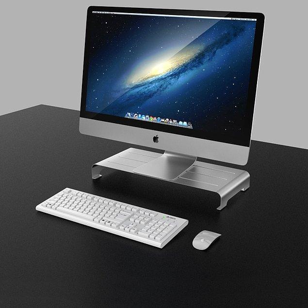 13. Masanızı değiştiremiyorsanız bilgisayarınızın altını yükseltmeniz şart!