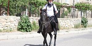 'Kovboy Muhtar' Tuba Somkaya'nın Atını Vurdular: 'Karnında Yavrusuyla Birlikte Öldü'