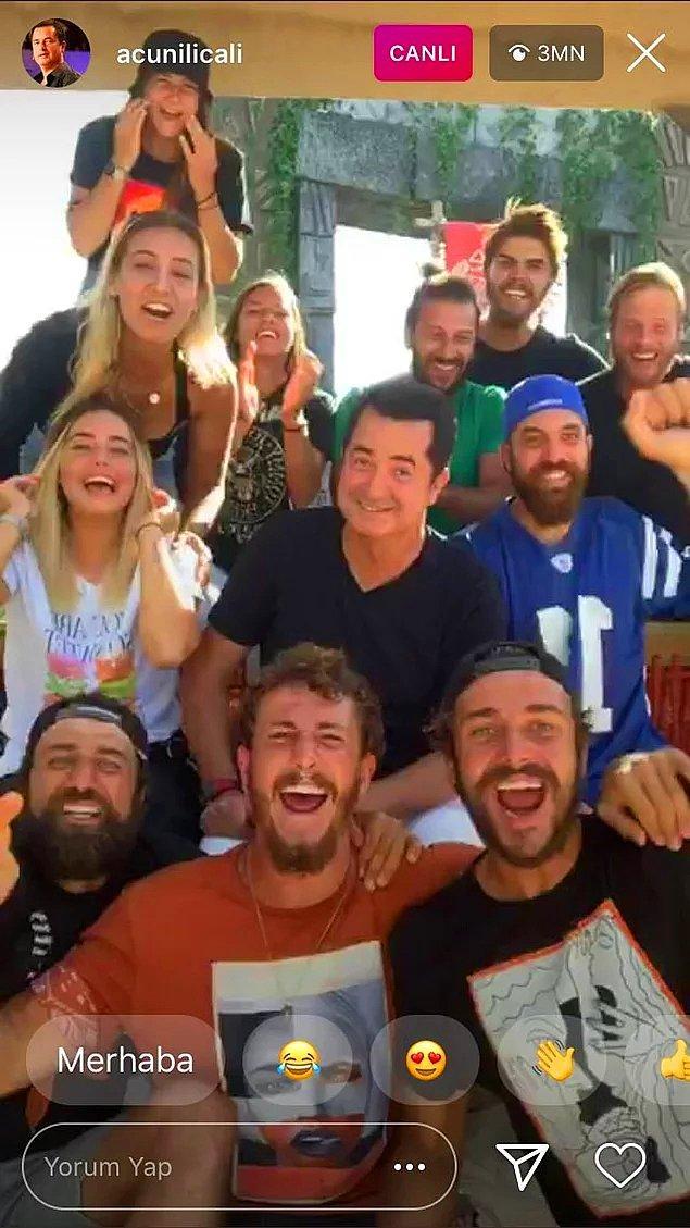 5. Acun Ilıcalı ile Survivor ekibinden Instagram canlı yayın rekoru geldi!