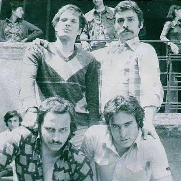 6. Mehmet Ali Erbil ve Haluk Bilginer'in öğrencilik yılları, Ankara, 1976.