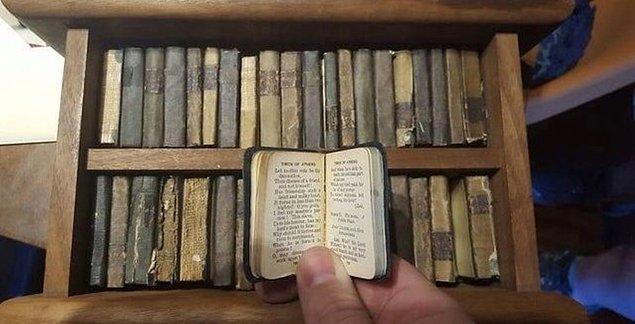 8. 111 yıllık minyatür Shakespeare oyunlarından okumaz mıydınız?