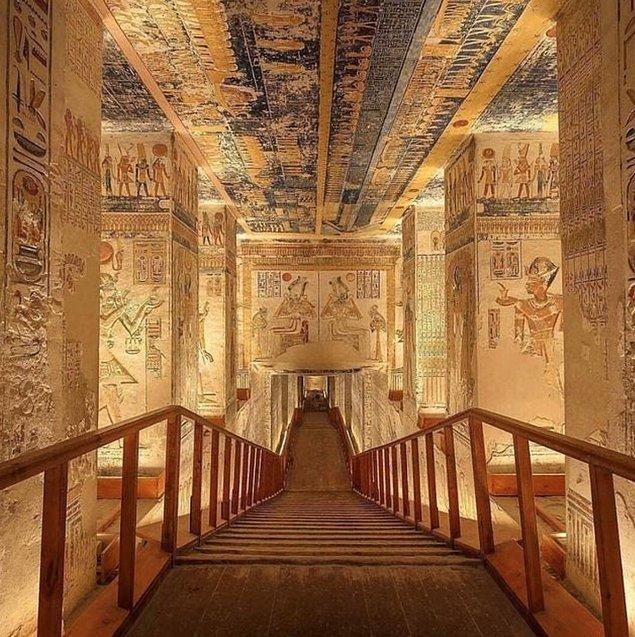 10. Krallar Vadisi, Mısır.