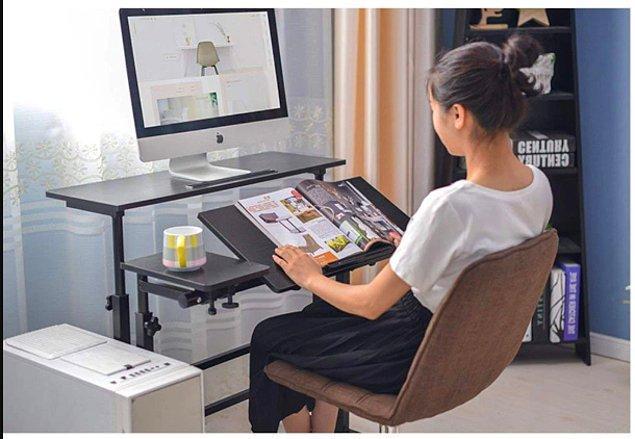1. Çalışma alanınızı portatif mobilyalarla kurmak omurga sağlığınız için oldukça önemli.