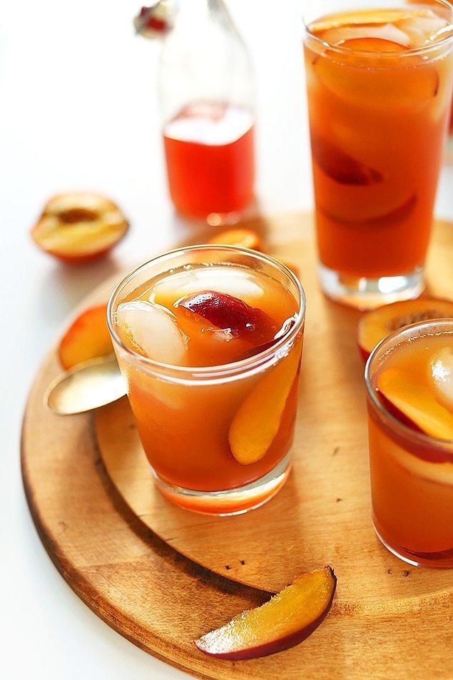 Şeftalili Soğuk Çay Tarifi