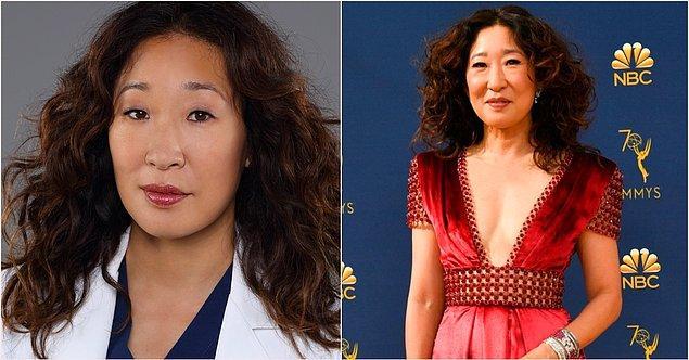 6. 'Cristina Yang' karakteriyle Sandra Oh: